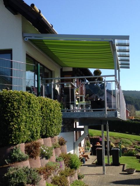 Terrassenüberdachung in Eschenburg Eibelshausen