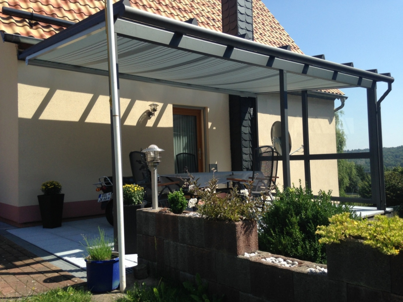 aluminium glas terrassendach in driedorf sonnentraum. Black Bedroom Furniture Sets. Home Design Ideas