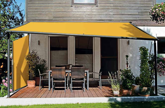 Shed with Pergola
