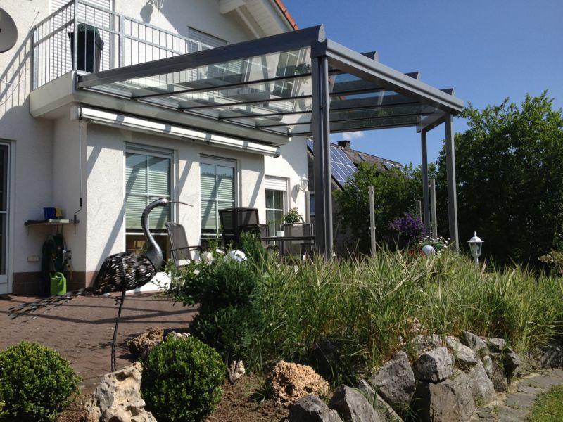 Aluminium Glas Terrassendach In Dietzholztal