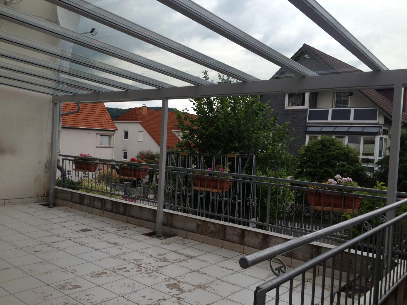 Terrassendach in Dillenburg